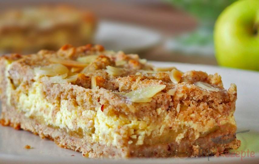 Mehlfreie Quark Apfel Schnitten Top Rezepte De