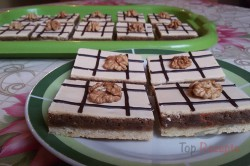 Zubereitung des Rezepts Mürbeteig-Nuss-Kuchen mit Eigelb-Glasur, schritt 11