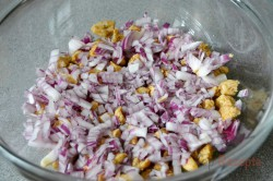 Zubereitung des Rezepts Gyros-Schichtsalat, schritt 3