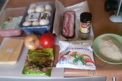 Zubereitung des Rezepts Hackbraten mit Käse im Speckmantel, schritt 1