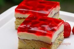 Zubereitung des Rezepts Erdbeerschnitten mit Tortenguss, schritt 5