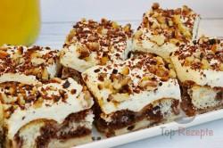 Zubereitung des Rezepts Sahne-Pudding-Kuchen, schritt 16