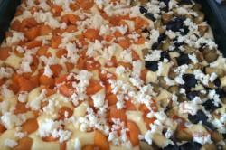 Zubereitung des Rezepts Der beste und schnellste Obst-Biskuitkuchen, schritt 9