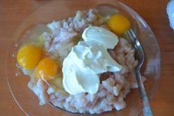 Zubereitung des Rezepts Französische Hähnchenpuffer, schritt 2