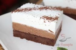 Zubereitung des Rezepts Brownies – Schoko-Kaffee-Schnitten (Fotoanleitung), schritt 12