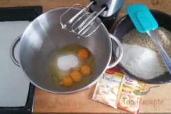 Zubereitung des Rezepts Karamell-Nuss-Schnitten, schritt 1