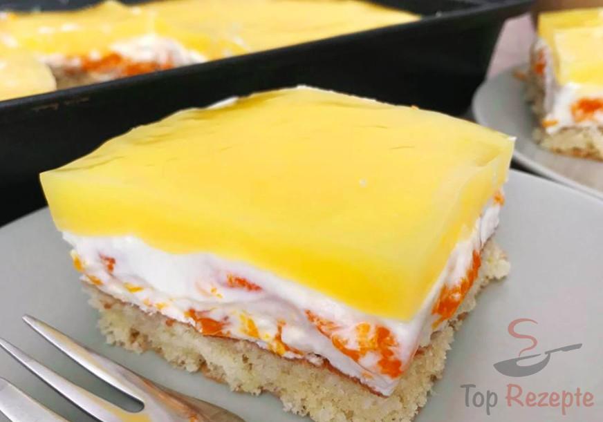 Einfacher Leckerer Und Frischer Mandarinenkuchen Top Rezepte De