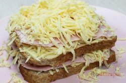 """Zubereitung des Rezepts Knuspriges """"Monte Cristo"""" Sandwich, schritt 1"""