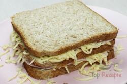 """Zubereitung des Rezepts Knuspriges """"Monte Cristo"""" Sandwich, schritt 2"""