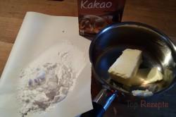 Zubereitung des Rezepts Leckerer Nuss-Zucchinikuchen mit Kakaoglasur, schritt 12