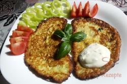 Zubereitung des Rezepts Einfache und schnelle Zucchinipuffer, schritt 8