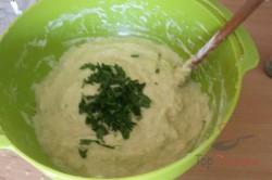 Zubereitung des Rezepts Einfache und schnelle Zucchinipuffer, schritt 4