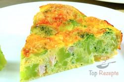 Zubereitung des Rezepts Herzhafte FITNESS Brokkoli-Torte ohne Mehl, schritt 1