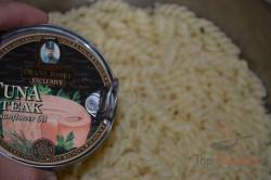 Zubereitung des Rezepts Nudelauflauf mit Thunfisch und Käse, schritt 1