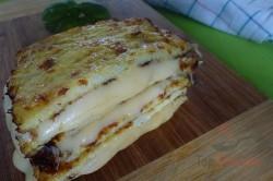 Zubereitung des Rezepts Im Ofen gebackener Käse – mal anders, ohne Panade, schritt 5
