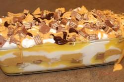Zubereitung des Rezepts Himmel im Mund – KIT-KAT-Riegel-Lasagne ohne Backen, schritt 5