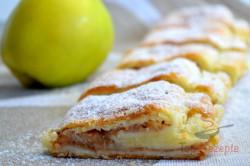 Zubereitung des Rezepts Apfelstrudel aus Quarkteig, schritt 6