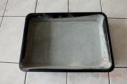 Zubereitung des Rezepts Gestreuter Tassenkuchen mit Äpfeln, schritt 3