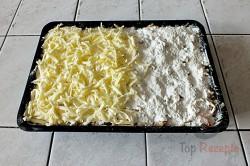 Zubereitung des Rezepts Gestreuter Tassenkuchen mit Äpfeln, schritt 7