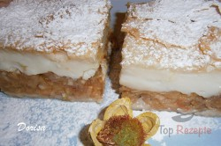 Zubereitung des Rezepts Apfelkuchen mit Pudding – FOTOANLEITUNG, schritt 8