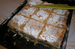 Zubereitung des Rezepts Apfelkuchen mit Pudding – FOTOANLEITUNG, schritt 7