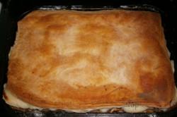 Zubereitung des Rezepts Apfelkuchen mit Pudding – FOTOANLEITUNG, schritt 6