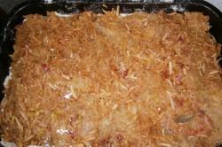 Zubereitung des Rezepts Apfelkuchen mit Pudding – FOTOANLEITUNG, schritt 3