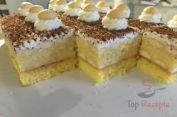 Zubereitung des Rezepts Pfirsich-Cremedessert mit Eierplätzchen, schritt 12