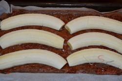Zubereitung des Rezepts Bananenschnitten mit Schokoraspeln, schritt 3