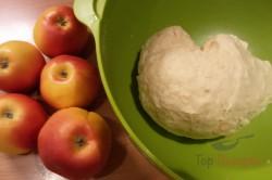 Zubereitung des Rezepts Der perfekte Sahnestrudel (mit Quark- und Apfelfüllung), schritt 4