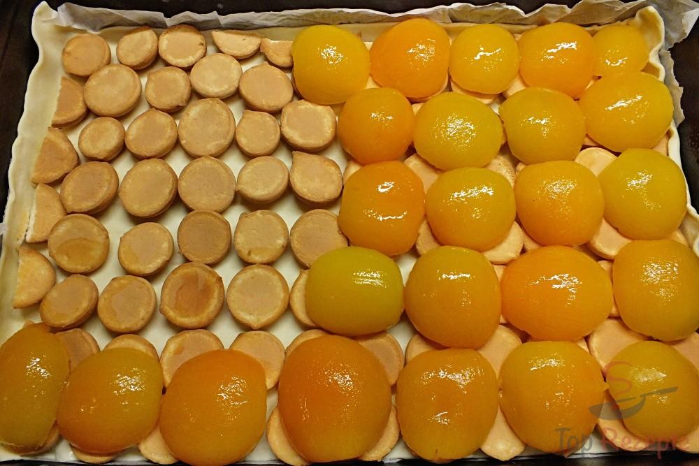 Leckerer Puddingkuchen Mit Blatterteig