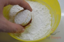 Zubereitung des Rezepts Vanilleplätzchen mit Konfitüre, schritt 6