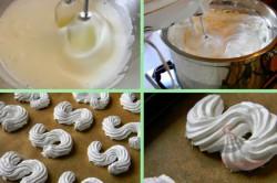 Zubereitung des Rezepts S-Schaumgebäck mit Kaffeecreme, schritt 1