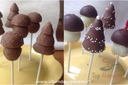 Zubereitung des Rezepts Weihnachtliche Cake Pops ohne Backen, schritt 3