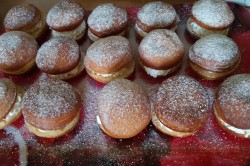 Zubereitung des Rezepts Selbstgemachte Berliner mit Quarkfüllung, schritt 15