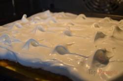 Zubereitung des Rezepts Apfelkuchen mit Schneehaube, schritt 9