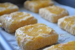 Zubereitung des Rezepts Leckerer panierter Käse aus dem Backofen – schmeckt wie frittiert!, schritt 5