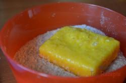 Zubereitung des Rezepts Leckerer panierter Käse aus dem Backofen – schmeckt wie frittiert!, schritt 3
