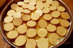 Zubereitung des Rezepts Pfirsich-Torte ohne Backen, schritt 13