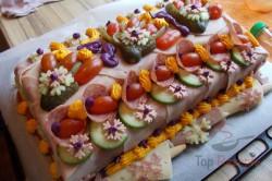 Zubereitung des Rezepts Herzhafte Torte – mit Fotoanleitung von einem Fan, schritt 16