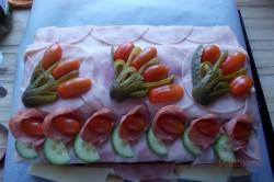 Zubereitung des Rezepts Herzhafte Torte – mit Fotoanleitung von einem Fan, schritt 13