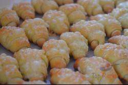 Zubereitung des Rezepts Leckere winzige Käse-Croissants, schritt 10