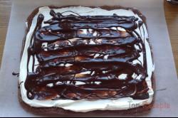Zubereitung des Rezepts Kakaorolle mit Quark und Schokolade, schritt 1