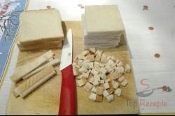 Zubereitung des Rezepts Toastbrot-Schinken-Rolle, schritt 2