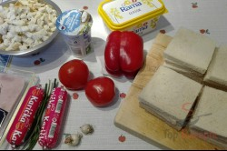 Zubereitung des Rezepts Toastbrot-Schinken-Rolle, schritt 1