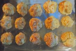 Zubereitung des Rezepts Hähnchenfleisch-Bällchen mit Sahnesoße, schritt 3