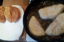 Zubereitung des Rezepts Mit Schinken und Käse gefüllte Langos – FOTOANLEITUNG, schritt 9