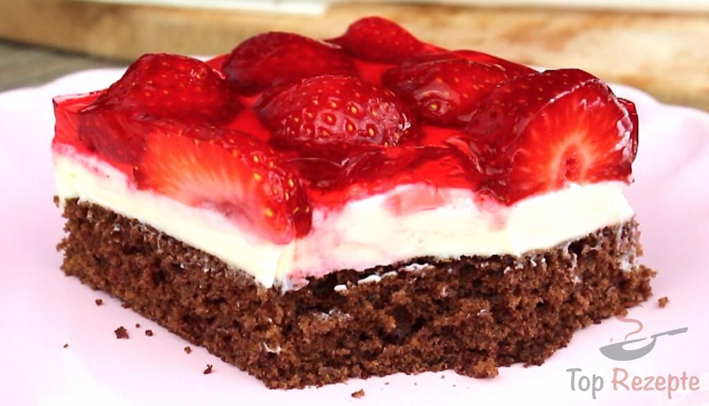 Erdbeer Quark Schnitten Top Rezepte De