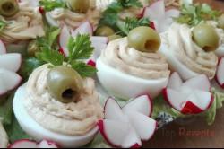 Zubereitung des Rezepts Gefüllte Eier mit Thunfischcreme, schritt 4