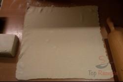 Zubereitung des Rezepts Vanillepudding-Apfel-Kuchen, schritt 1